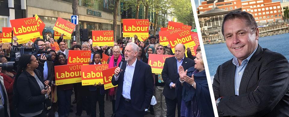Jeremy Corbyn Steve Howell